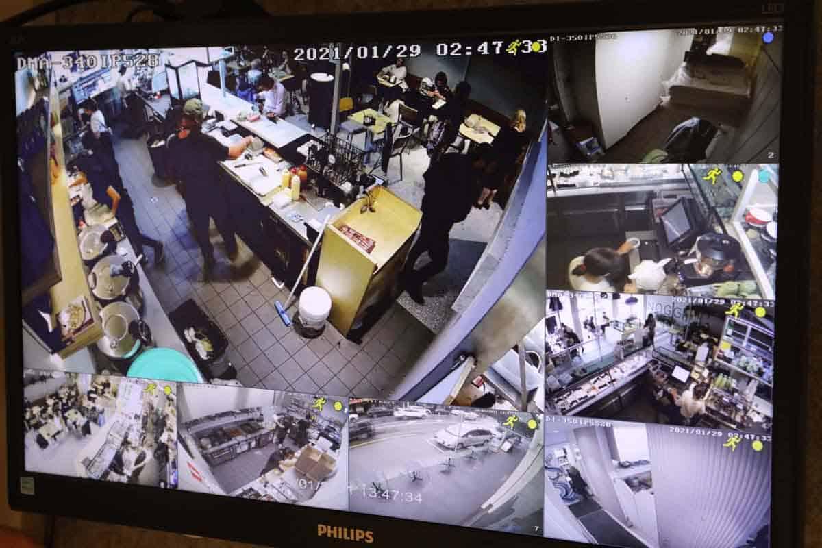 cctv footage of caulfield cafe
